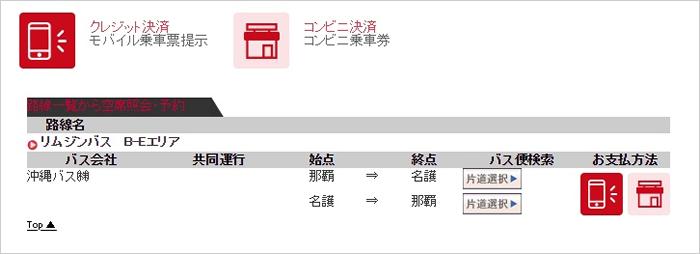JTB高速バスでハレクラニ沖縄行きリムジンバスチケットを購入1