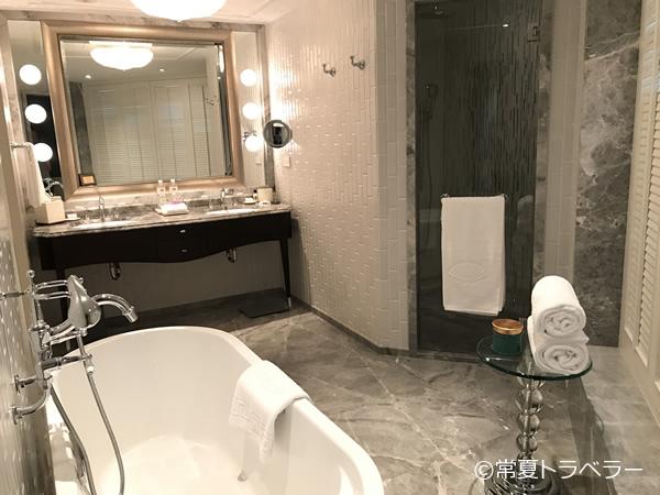 マンダリンオリエンタルホテル台北バスルーム