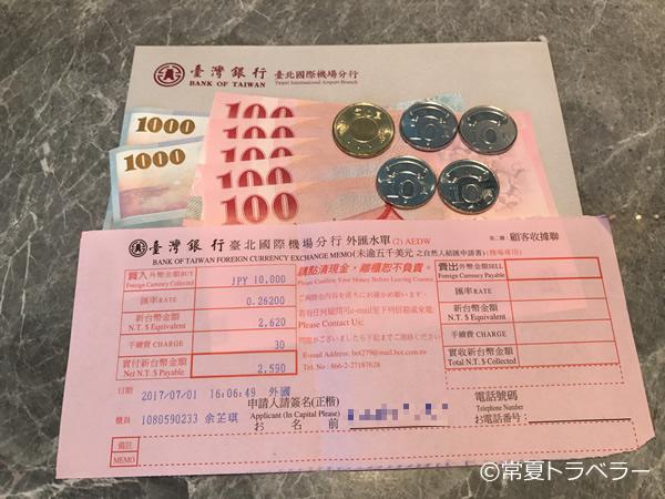 台湾銀行両替