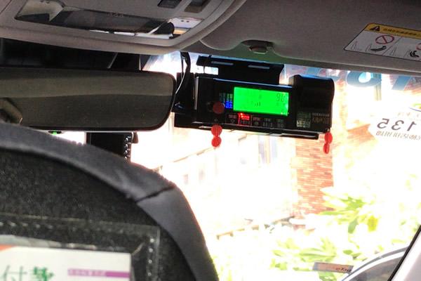 台湾タクシーメーター上
